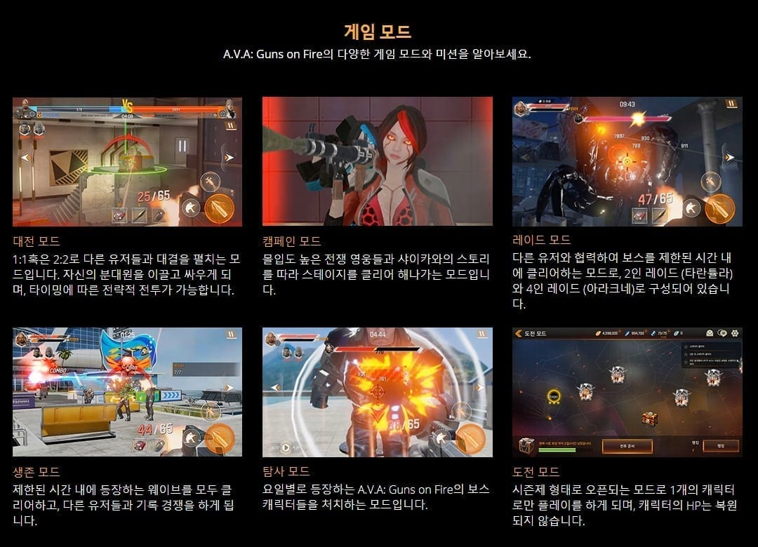 A V A: Guns on Fire – Red Duck reveals new mobile shooter   MMO Culture