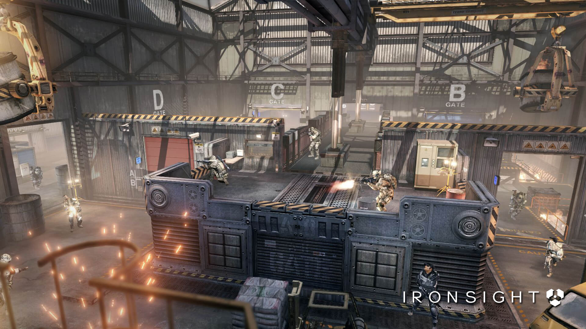 Ironsight – Closed Beta date announced for futuristic sci ...