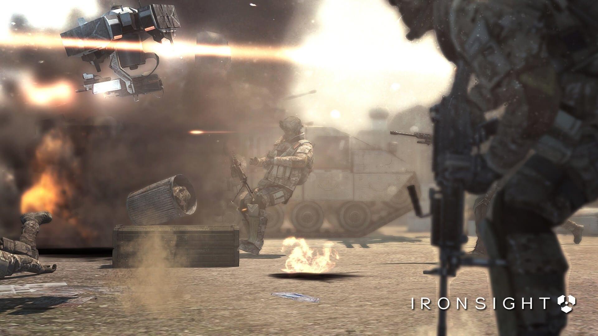 Ironsight – Closed Beta date announced for futuristic sci-fi