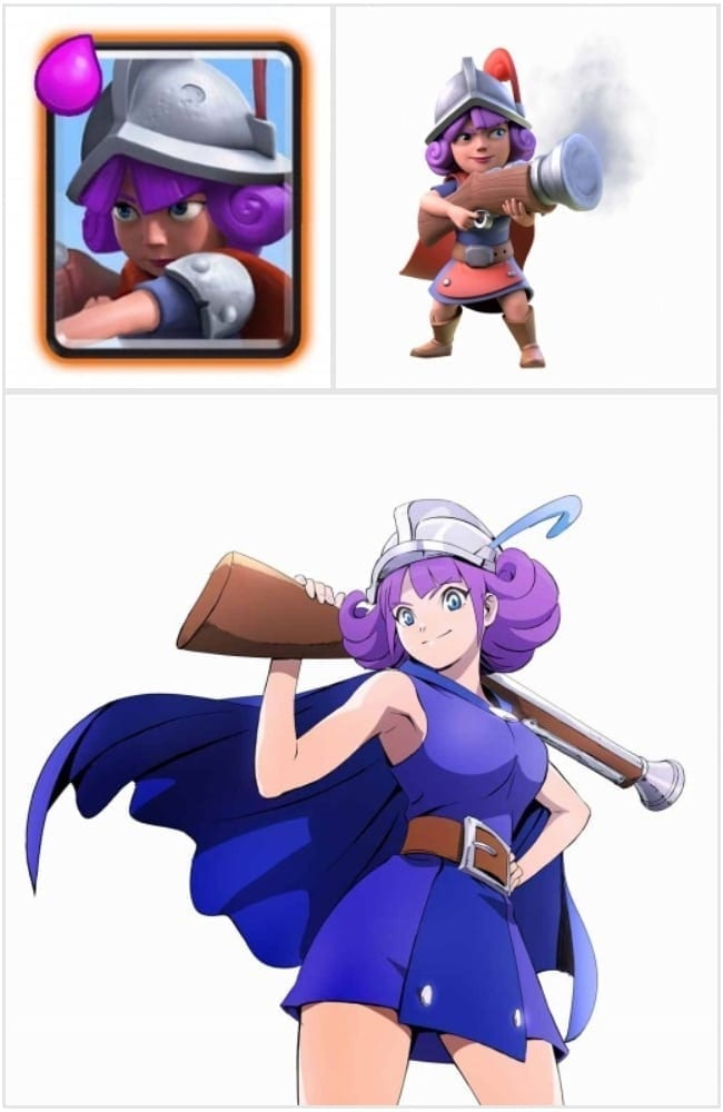Clash Royale Musketeer