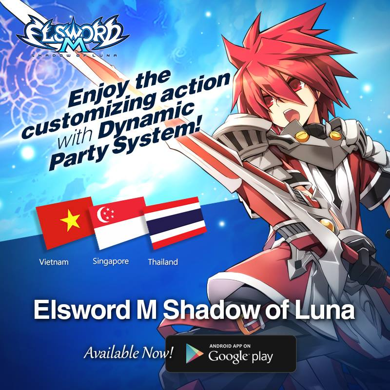 Elsword M Shadow of Luna