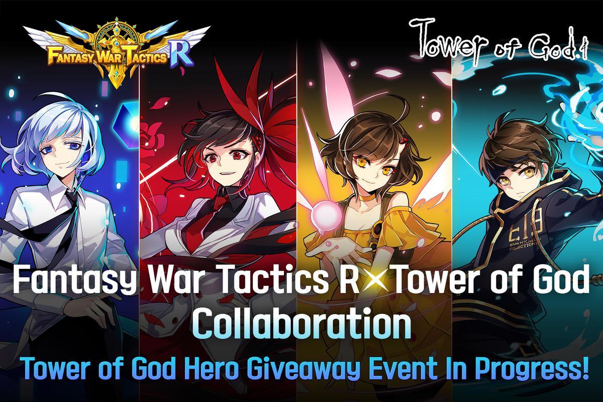 Fantasy War Tactics-R – Characters from Tower of God webtoon