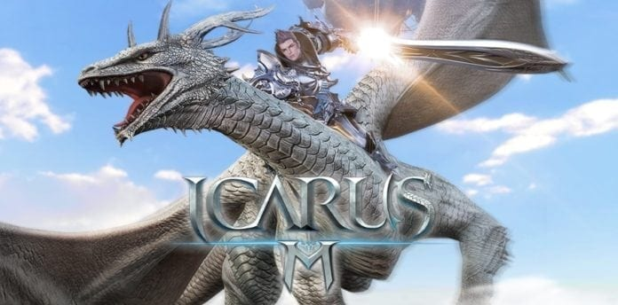 Icarus M – Pre-registration begins for Unreal Engine 4