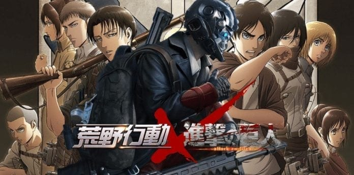 Knives Out – NetEase confirms collaboration with Attack on Titan