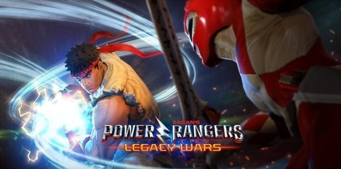 Power Rangers: Legacy Wars – Characters from Street Fighter