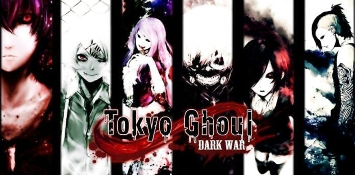 Tokyo Ghoul Dark War Official Mobile Game Based On Fantasy Anime Launches
