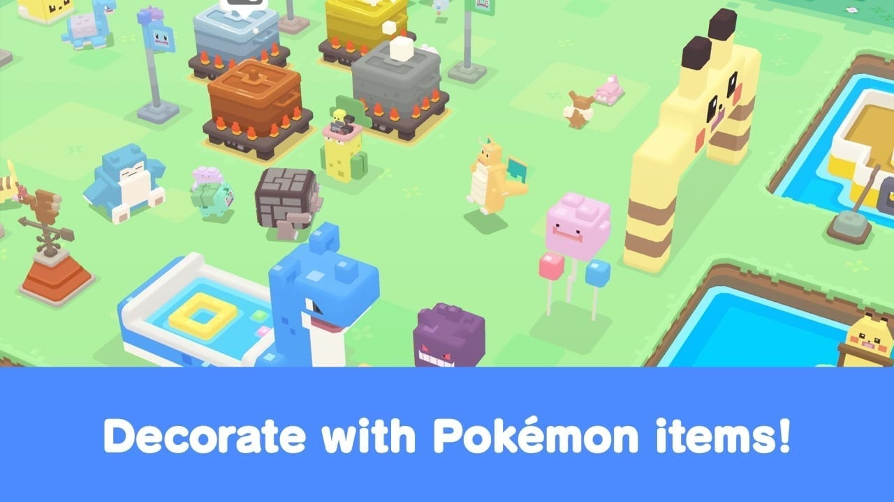 Pokémon Quest – Adorable Pokémon mobile RPG launches for