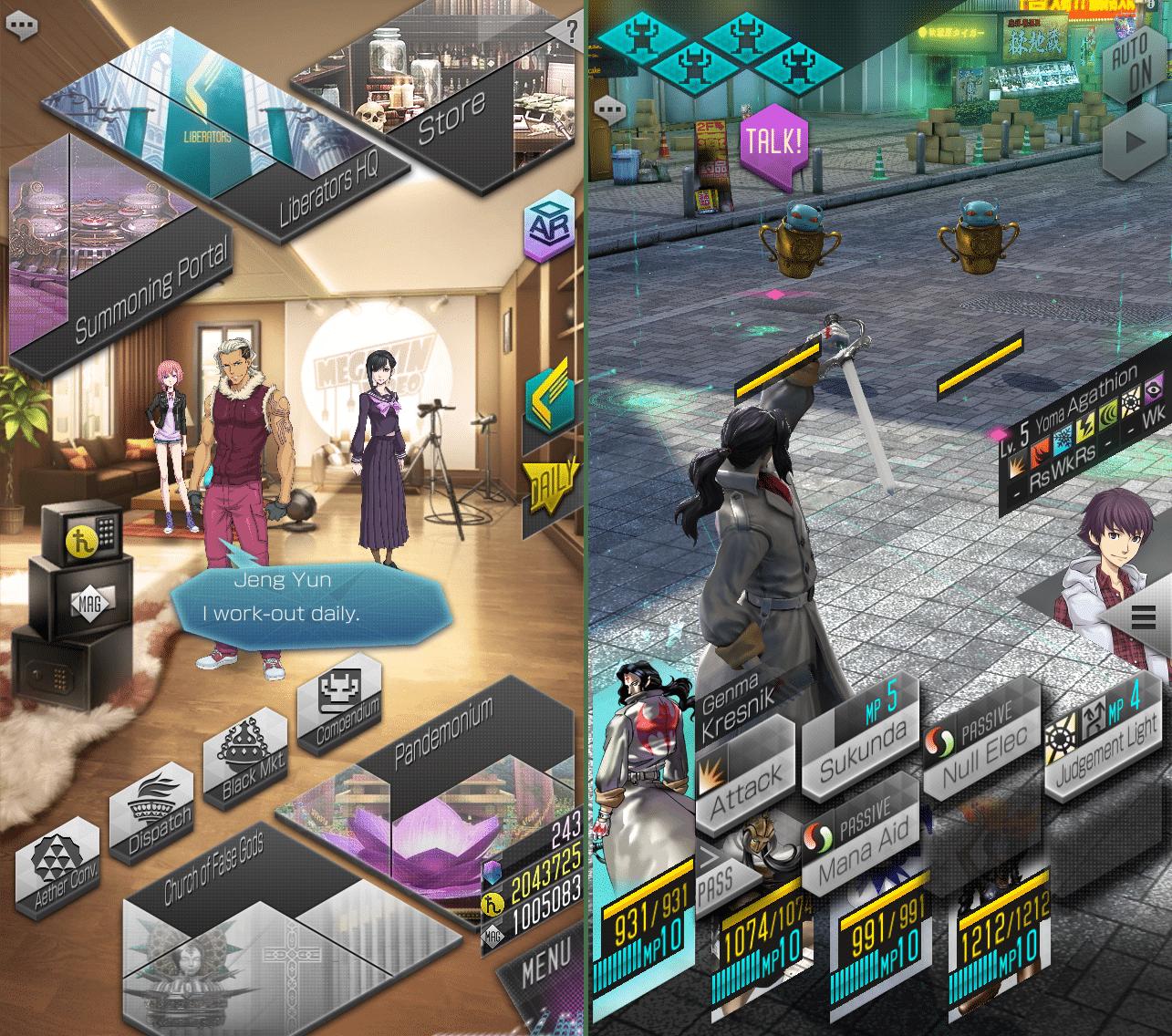 Shin Megami Tensei Liberation Dx2 – SEGA launches new mobile RPG