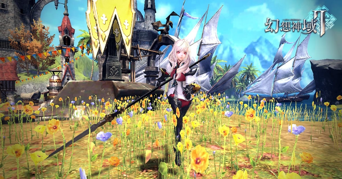 Aura Kingdom 2, mobile MMORPG,anime game