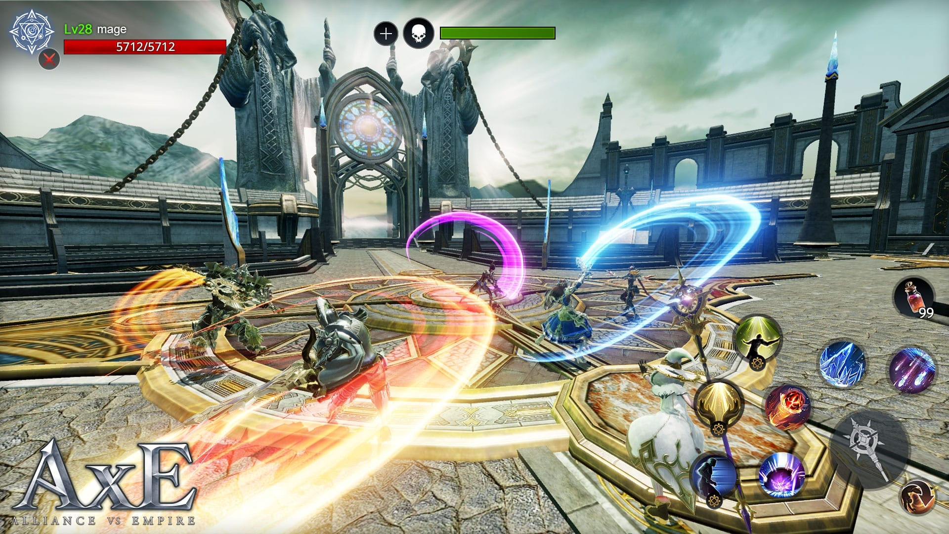 AxE: Alliance vs Empire – Nexon launches mobile MMORPG powered by