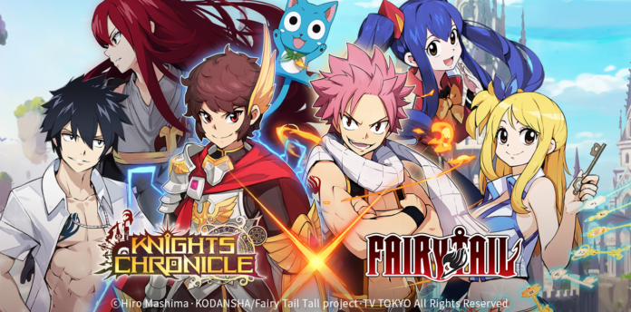 Knights Chronicle – Fairy Tail limited-time event begins for mobile RPG