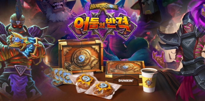 Hearthstone – Blizzard Korea partners with Dunkin' to promote latest