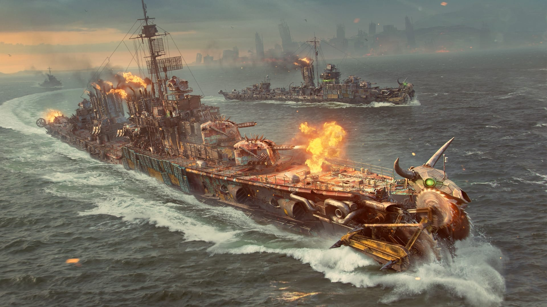 World of Warships - Battle royale mode in a new post-apocalyptic world goes live - MMO Culture