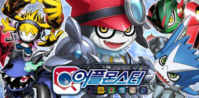 App Monsters Defense – Brief look at Korea-exclusive Digimon mobile
