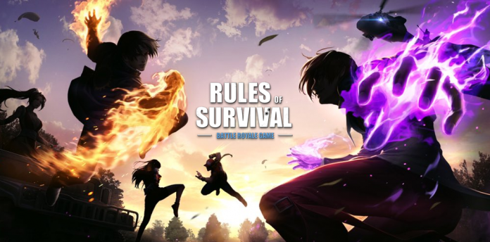 Rules Of Survival Collaboration Event With The King Of