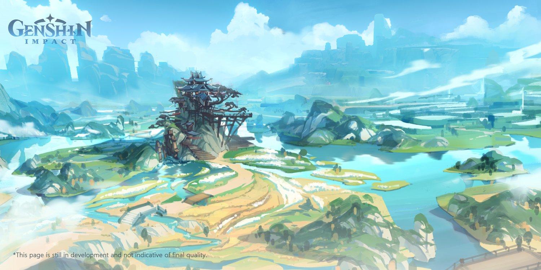 Genshin Impact - Open-world action RPG opens registration