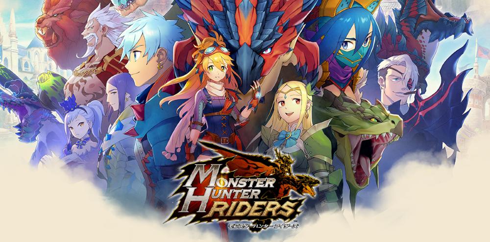 Monster Hunter Riders Capcom Announce New Mobile Rpg For Japan