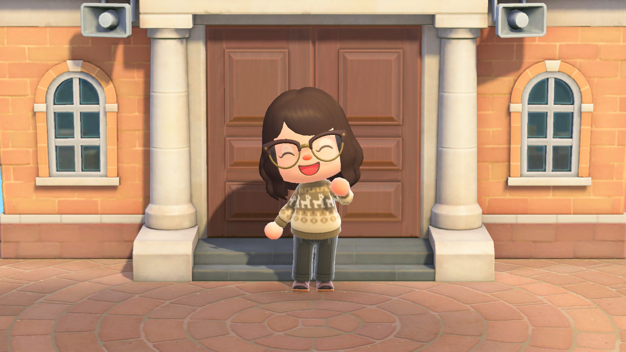 Animal Crossing Sweater Midwinter