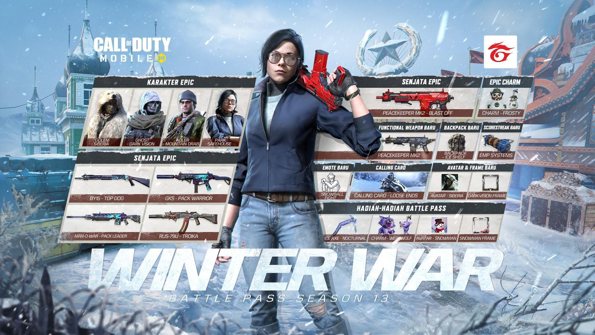 CoD Mobile Winter War