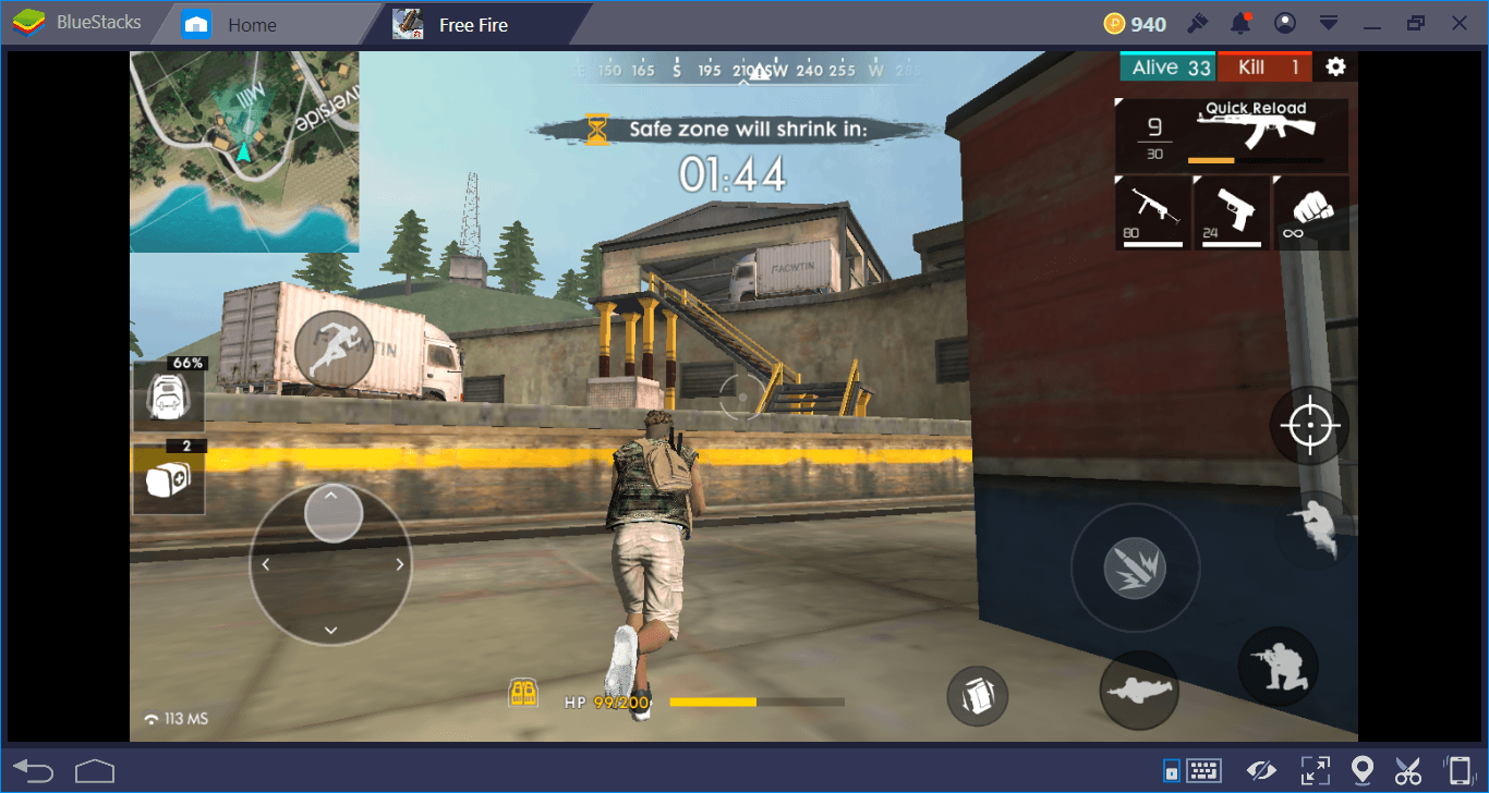 Free Fire Bluestacks