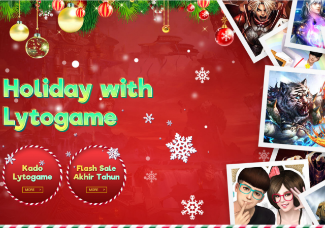 Holiday with Lytogame main banner