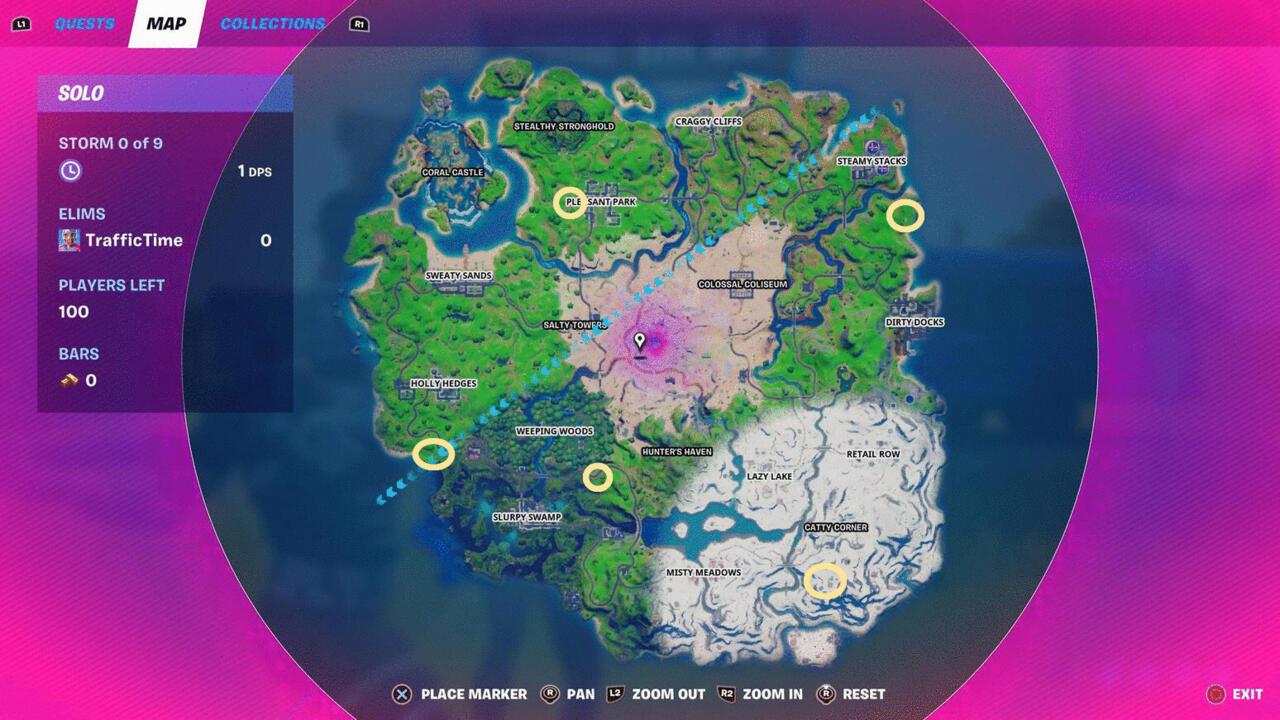 Lokasi Snowmando Outpost Fortnite