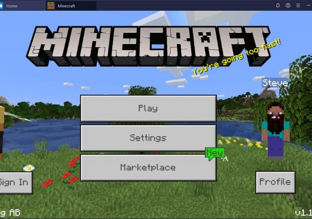 Minecraft Bluestacks