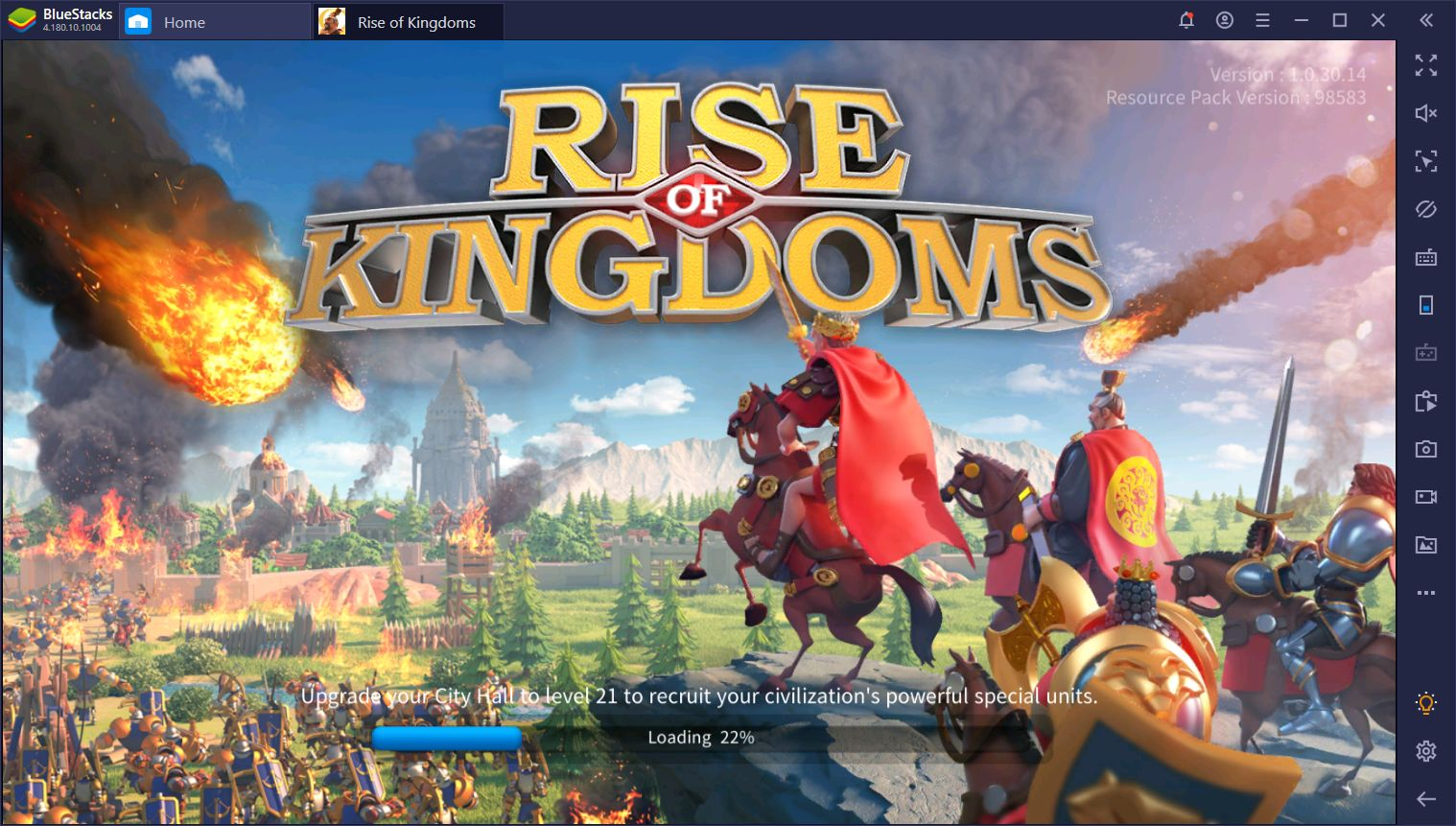 Rise of Kingdom Bluestacks