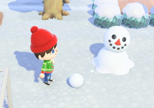 Snowman Animal Crossing