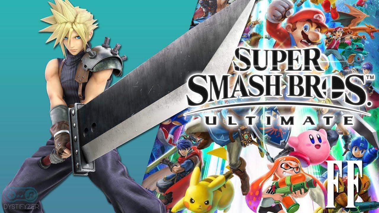Super Smash Brosh FF 7