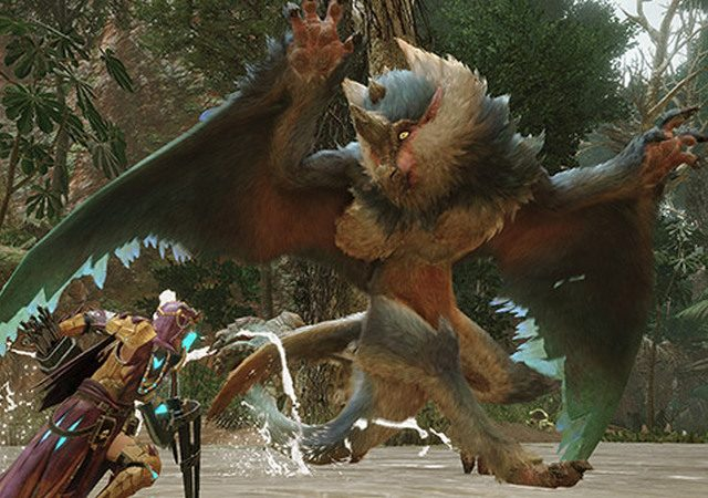 trailer baru monster hunter rise 1