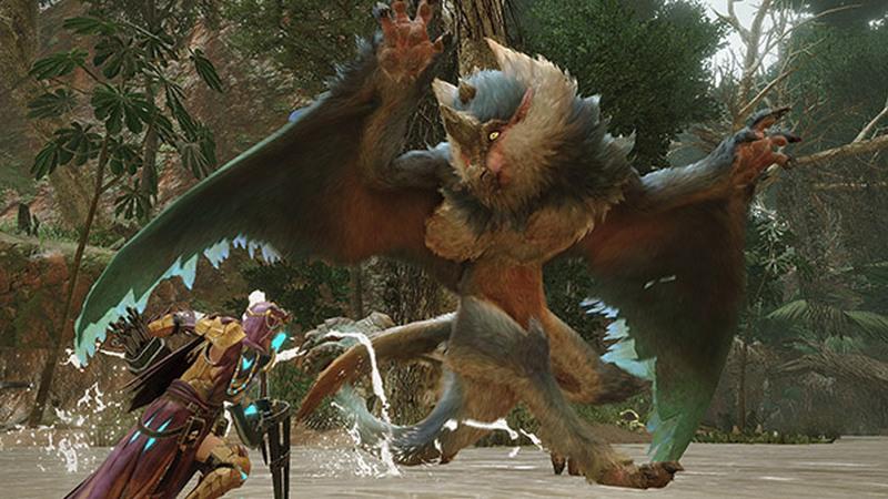 trailer baru monster hunter rise 1