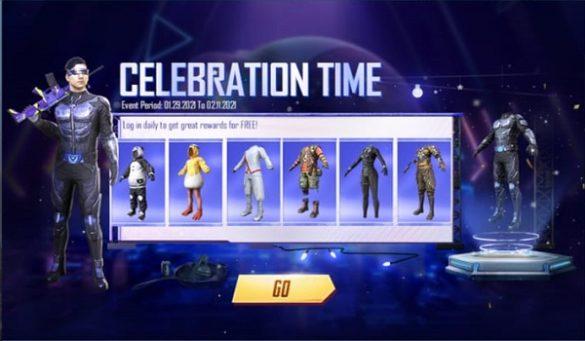 Event PUBG Mobile 7 Kostum Gratis