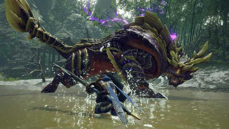 concept art monster hunter rise