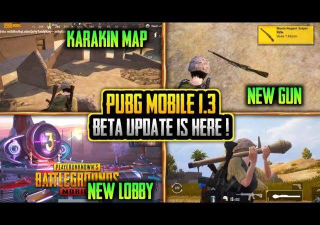 Beta PUBG Mobile 1.3