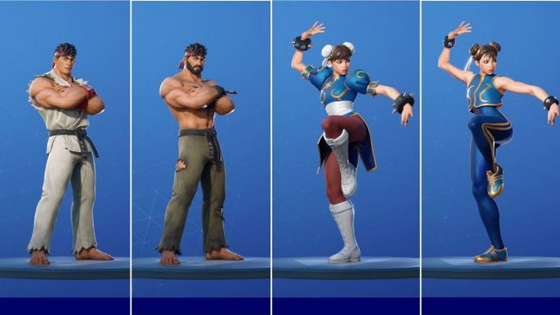 fortnite x street fighter 1