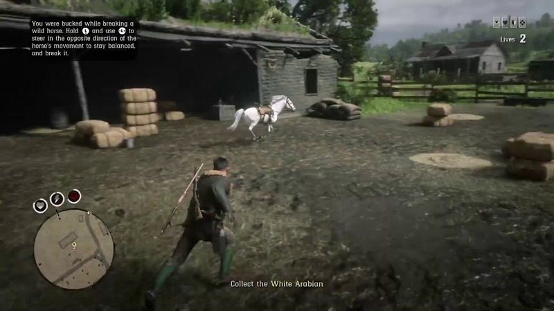 misi red dead online 1