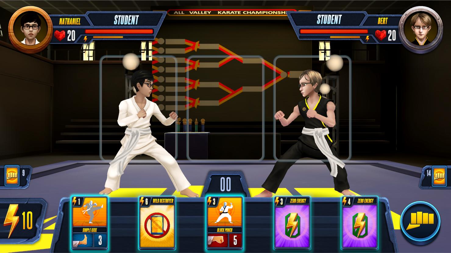 Cobra Kai Card Fighter
