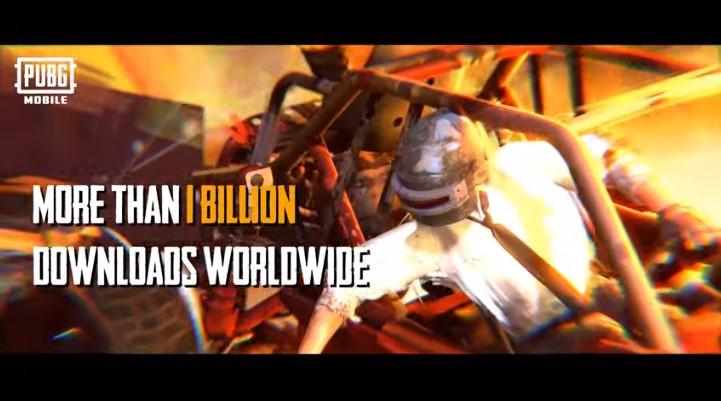 PUBG Mobile 1 biliion
