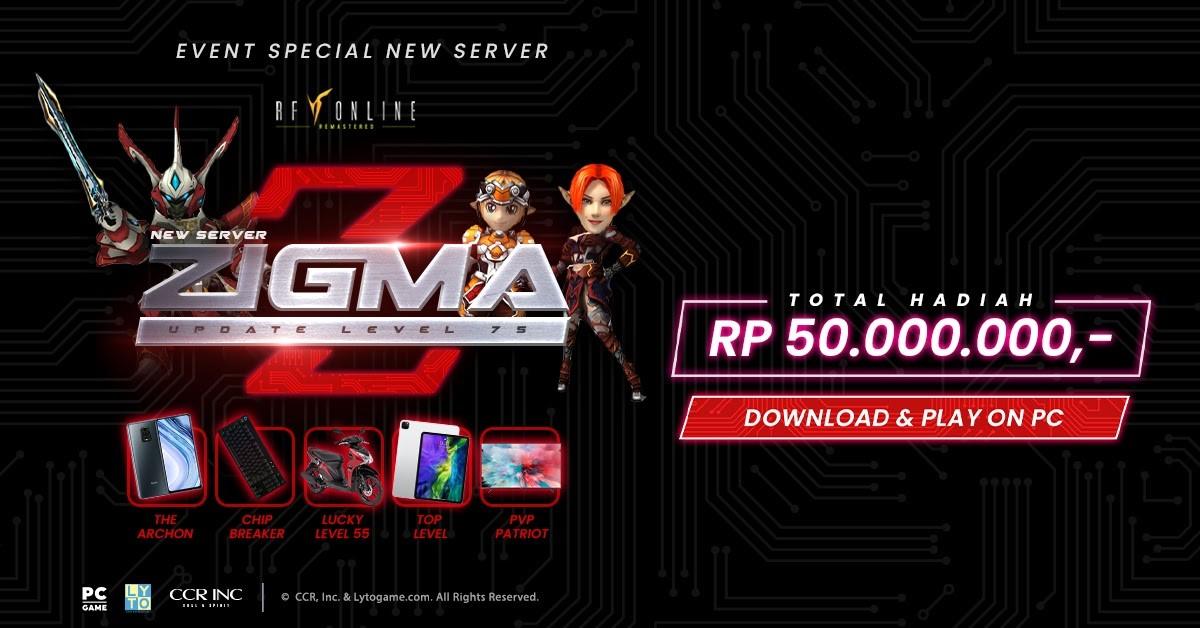 RF Online Server Zigma