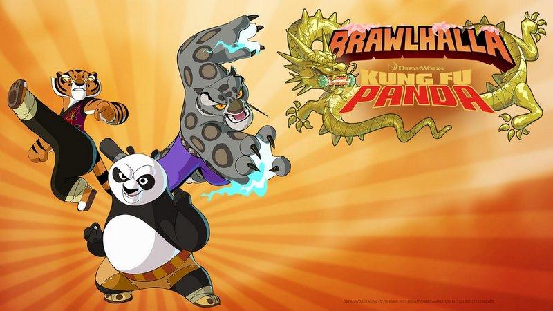 brawlhalla kolaborasi dengan kung fu panda