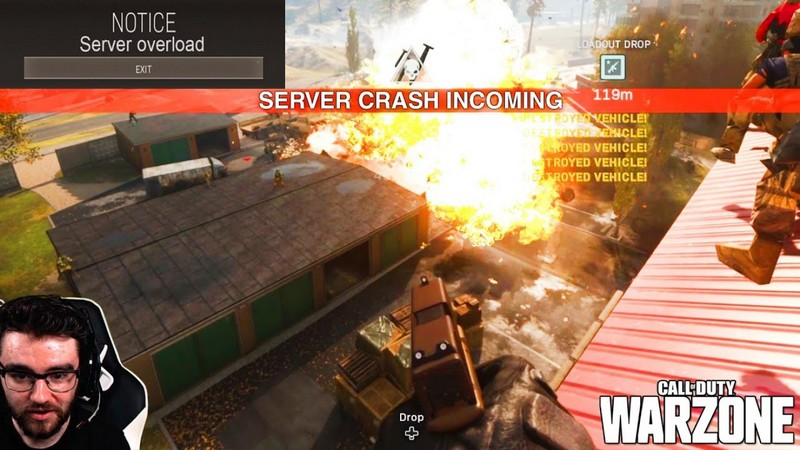 server call of duty warzone