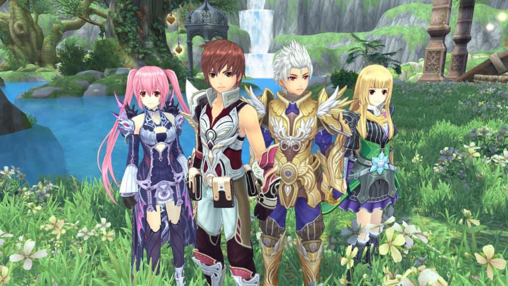 5 5 gim MMORPG ala Anime