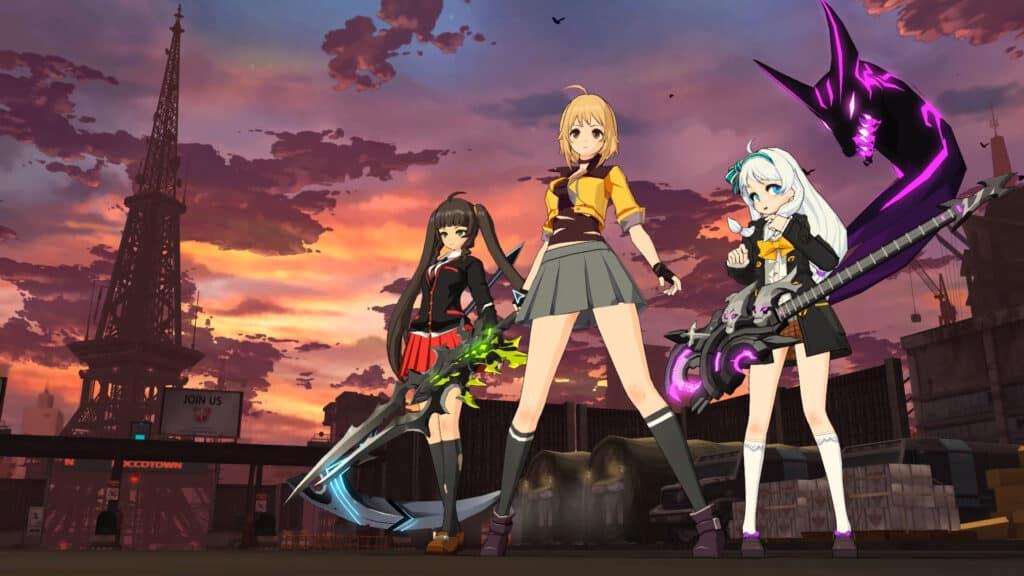 5 gim MMORPG ala Anime