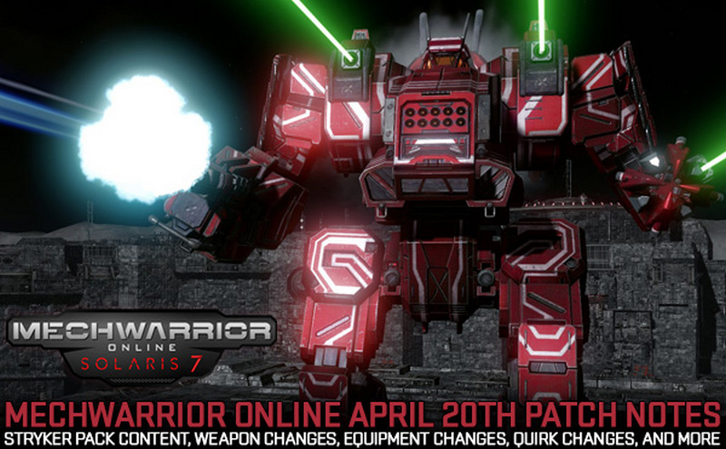 patch terbaru mechwarrior online 1